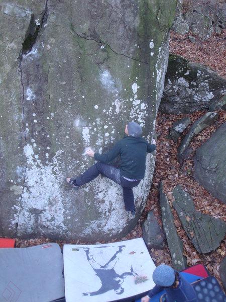 Rock Climbing Photo: Needle to the Vein