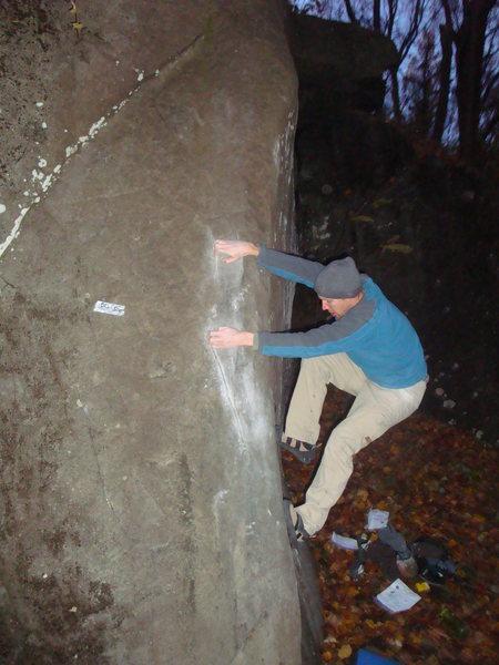 Rock Climbing Photo: The start of Shamu