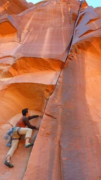 Rock Climbing Photo: Death of a Cowboy