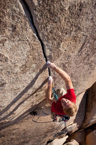 Rock Climbing Photo: Josh Higgins on Equinox.