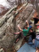 Rock Climbing Photo: The arete