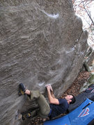 Rock Climbing Photo: Elliot on the start