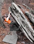 Rock Climbing Photo: Arete moves!