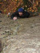 Rock Climbing Photo: Tyler starting crack
