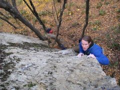 Rock Climbing Photo: sorry rob two fingers