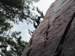 Rock Climbing Photo: Placement 2 Fall