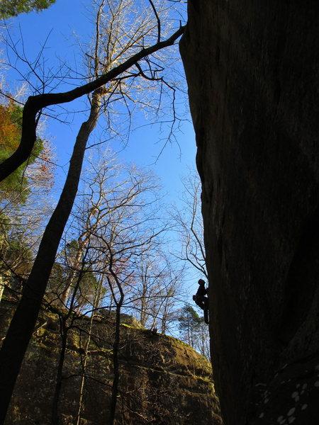 "Rock Climbing Photo: Jake F. on ""Wild at Heart"""