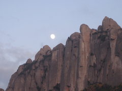 Rock Climbing Photo: montserrat illuminated