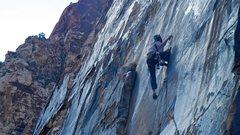 Rock Climbing Photo: Dan Carson  headed up Mushroom People.