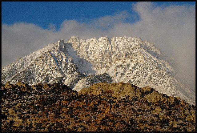 Basin Mountain.<br> Photo by Blitzo.