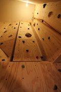 Rock Climbing Photo: The Viroqua Crack. just built artificial crack in ...