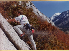 Rock Climbing Photo: Troy Warburton on the First Ascent of Other Intent...