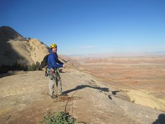 Rock Climbing Photo: Top of the climb.