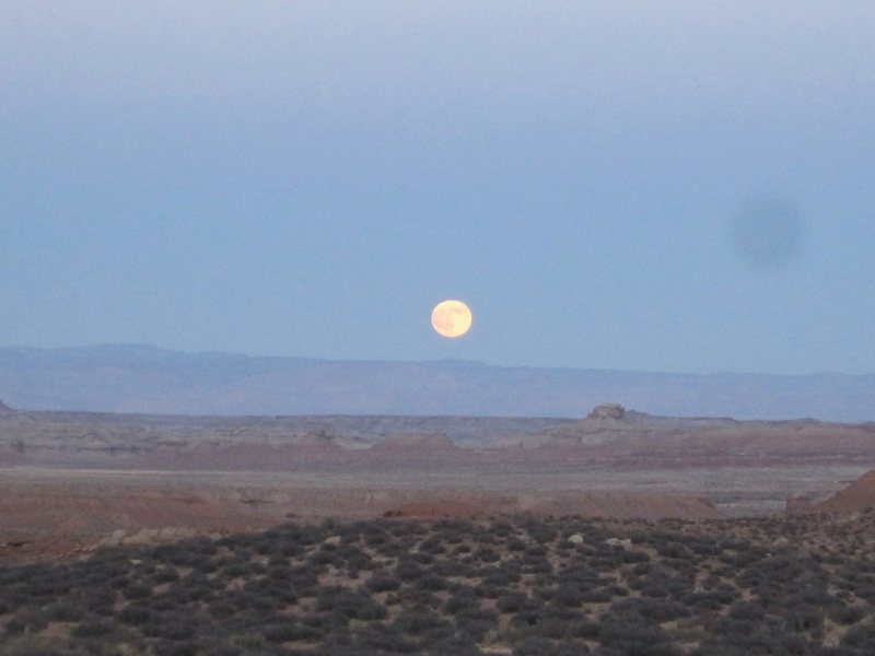 Moonrise over the Reef. 11/11/11