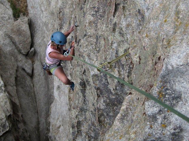 Rock Climbing Photo: LeAnn:  WTF?  Yeah...