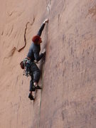 Rock Climbing Photo: Attempting to figure out how to climb .5 camalot s...