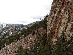 Rock Climbing Photo: The setting.   Ahhh, Eldo in November.