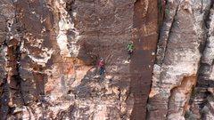Rock Climbing Photo: Party on The Next Century.