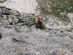 Rock Climbing Photo: Lowe route Lone Peak Cirque