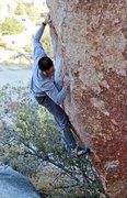 Rock Climbing Photo: Andre Khuu on Scatterbrain