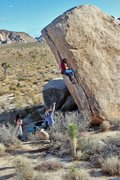 Rock Climbing Photo: Myself on White Rasta