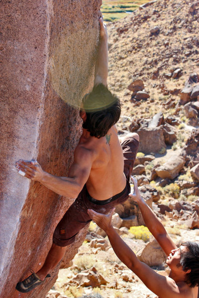 Rock Climbing Photo: Issaku Kohl on Atari