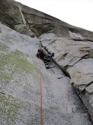 Rock Climbing Photo: Pitch 4, Glass Menagerie
