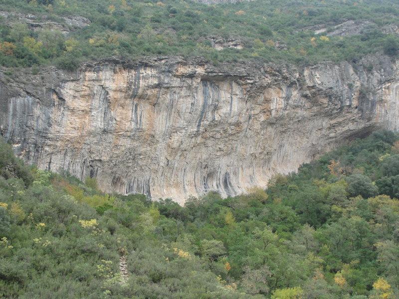 Rock Climbing Photo: Bruixes Wall.