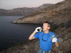 Rock Climbing Photo: Serious business.