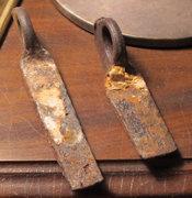 Rock Climbing Photo: A couple of the old pins that were recently replac...