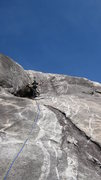 Rock Climbing Photo: Crux moves above...all two of them. Super fun casu...
