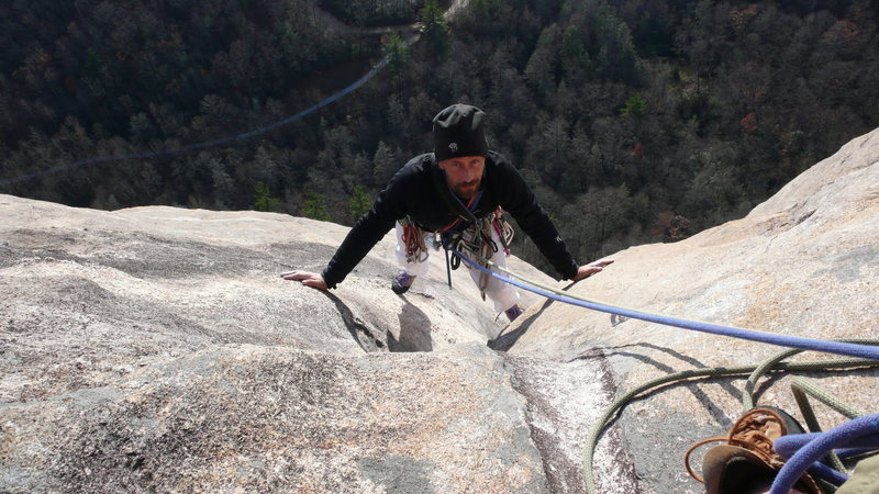 Rock Climbing Photo: 'Yep, that's that bullshit...'