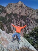 Rock Climbing Photo: Malcolm is now enthusiatic about his climb on the ...