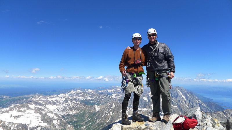 Rock Climbing Photo: grand summit