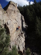 Rock Climbing Photo: Jay on Kum n' Go.