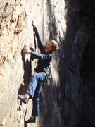 Rock Climbing Photo: Five n' Dimen' it.