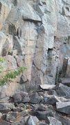 Rock Climbing Photo: Rocky but big base