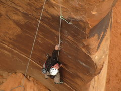 Rock Climbing Photo: BK checking it out.