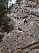 Rock Climbing Photo: Spanish limestone.