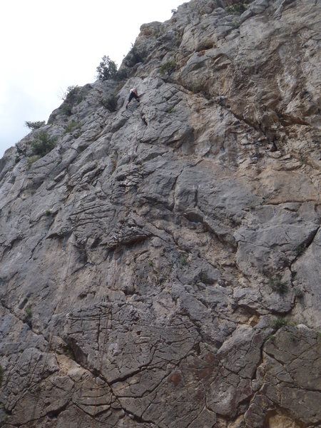 Rock Climbing Photo: find me...