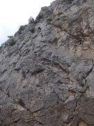 Rock Climbing Photo: find me...