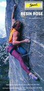 Rock Climbing Photo: Resin Rose ad from Climbing #104 (October 1987).