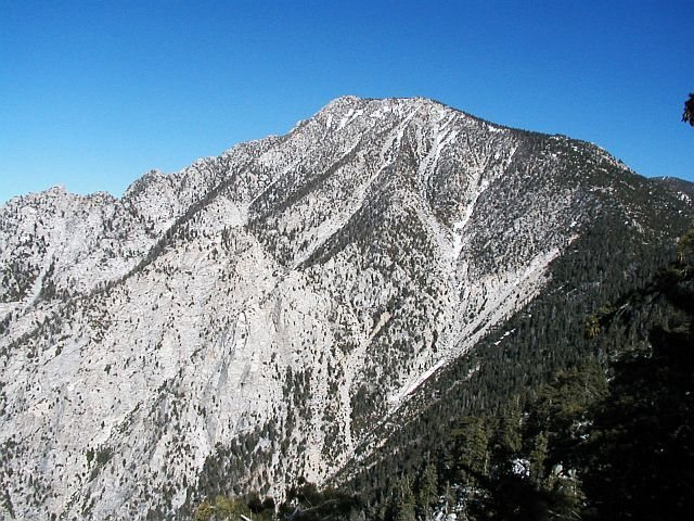 The view from Fuller Ridge, Mt. San Jacinto