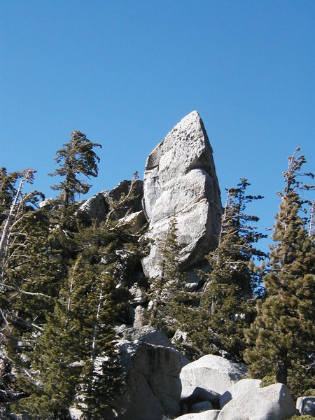 Rock Climbing Photo: Rock spire along the Fuller Ridge Trail, Black Mou...