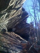 Rock Climbing Photo: South Overhang