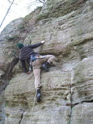 Rock Climbing Photo: Toben