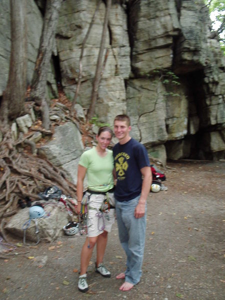 Rock Climbing Photo: Me and the wife