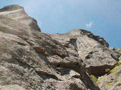 Rock Climbing Photo: Diagonal Route