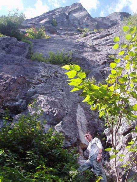Rock Climbing Photo: Walface