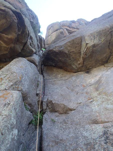 Rock Climbing Photo: Crack climbing